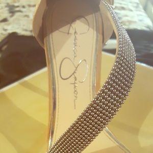 Beautiful Jessica Simpson tan shoe